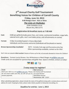 Enterprise 2nd Annual Charity Golf Tournament @ Challedon Circle | Mount Airy | Maryland | United States