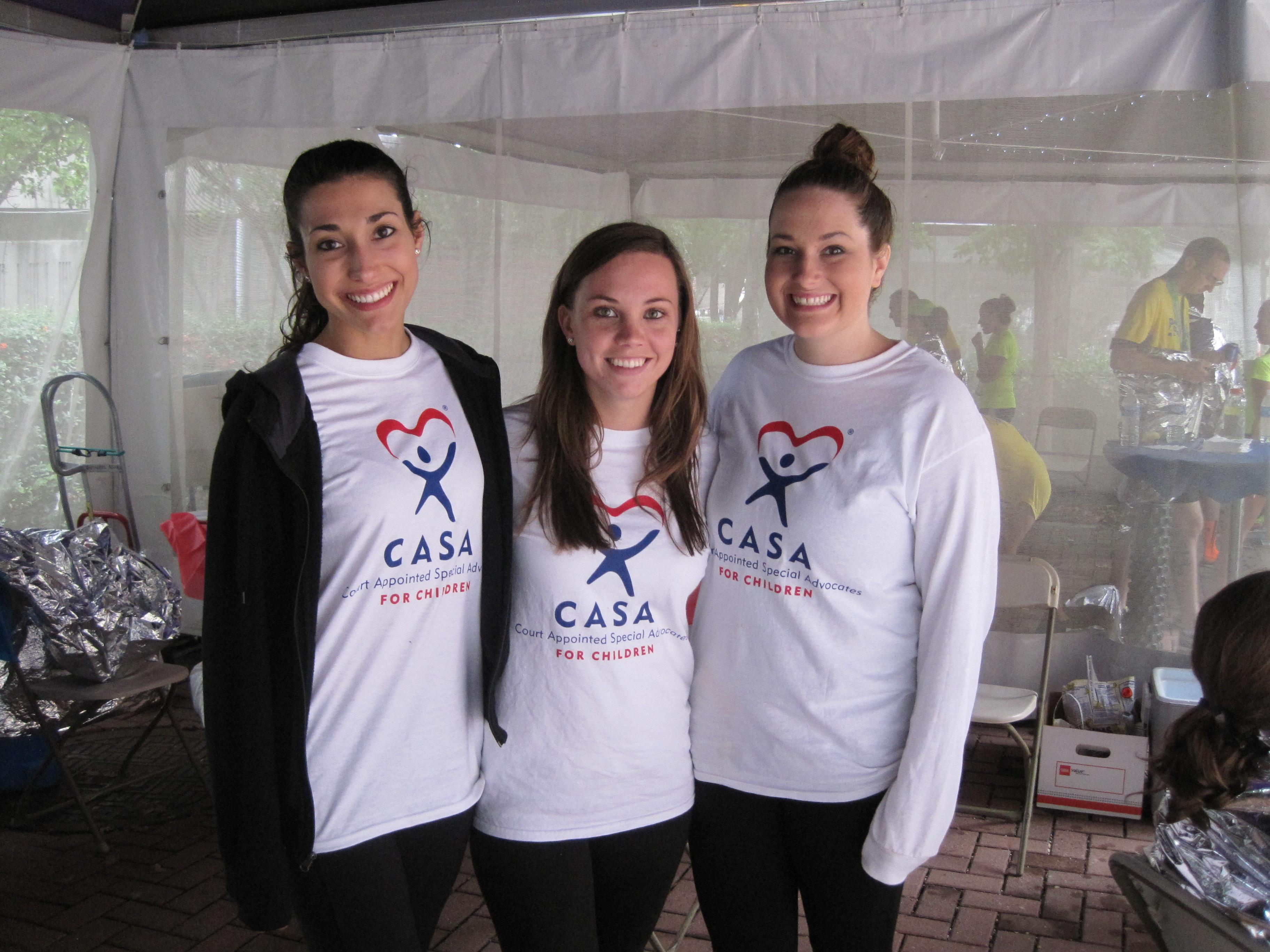 Christine, Liz & Brooke @ tent