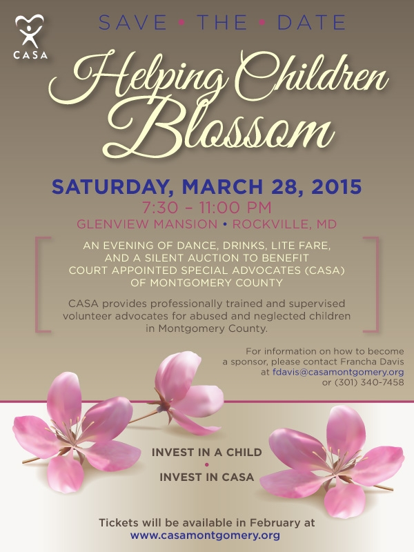 Helping Children Blossom Fundraising Event @ Glenview Mansion | Rockville | Maryland | United States