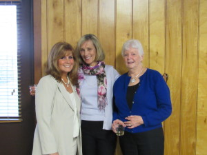 (L to R): Loretta Simon, Joan McGill, & Anne Feehley, community members who were part of the organization's first training class 15 years ago.