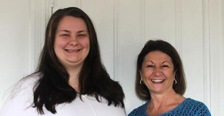 Sarah Wadkins, Case Manager & Giulia Hodge, CASA of Cecil County Executive Director